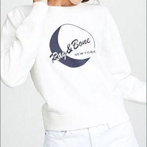 Rag and Bone 1984 Reconstructed Sweatshirt NWT